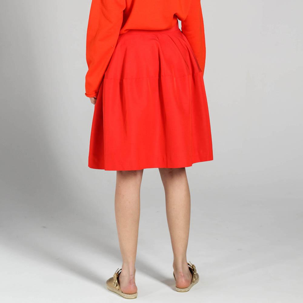 Юбка-тюльпан P.A.R.O.S.H. красного цвета