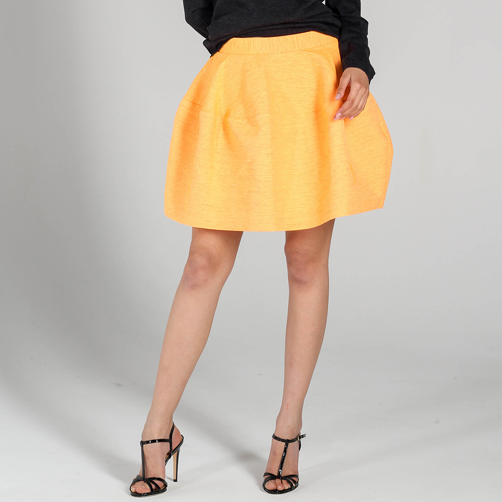 Оранжевая юбка-тюльпан P.A.R.O.S.H.