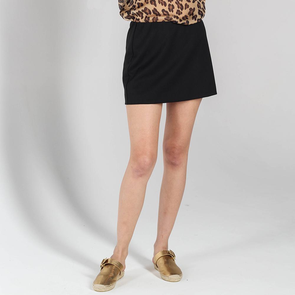 Мини-юбка P.A.R.O.S.H. черного цвета