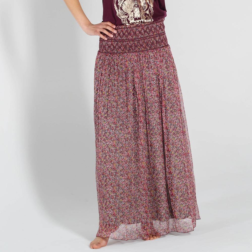 Шелковая юбка Zadig Voltaire на широкой резинке