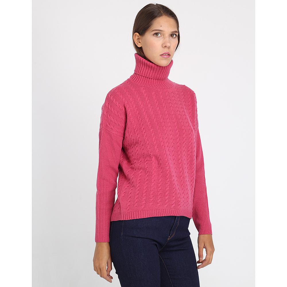 Шерстяной гольф Peserico розового цвета