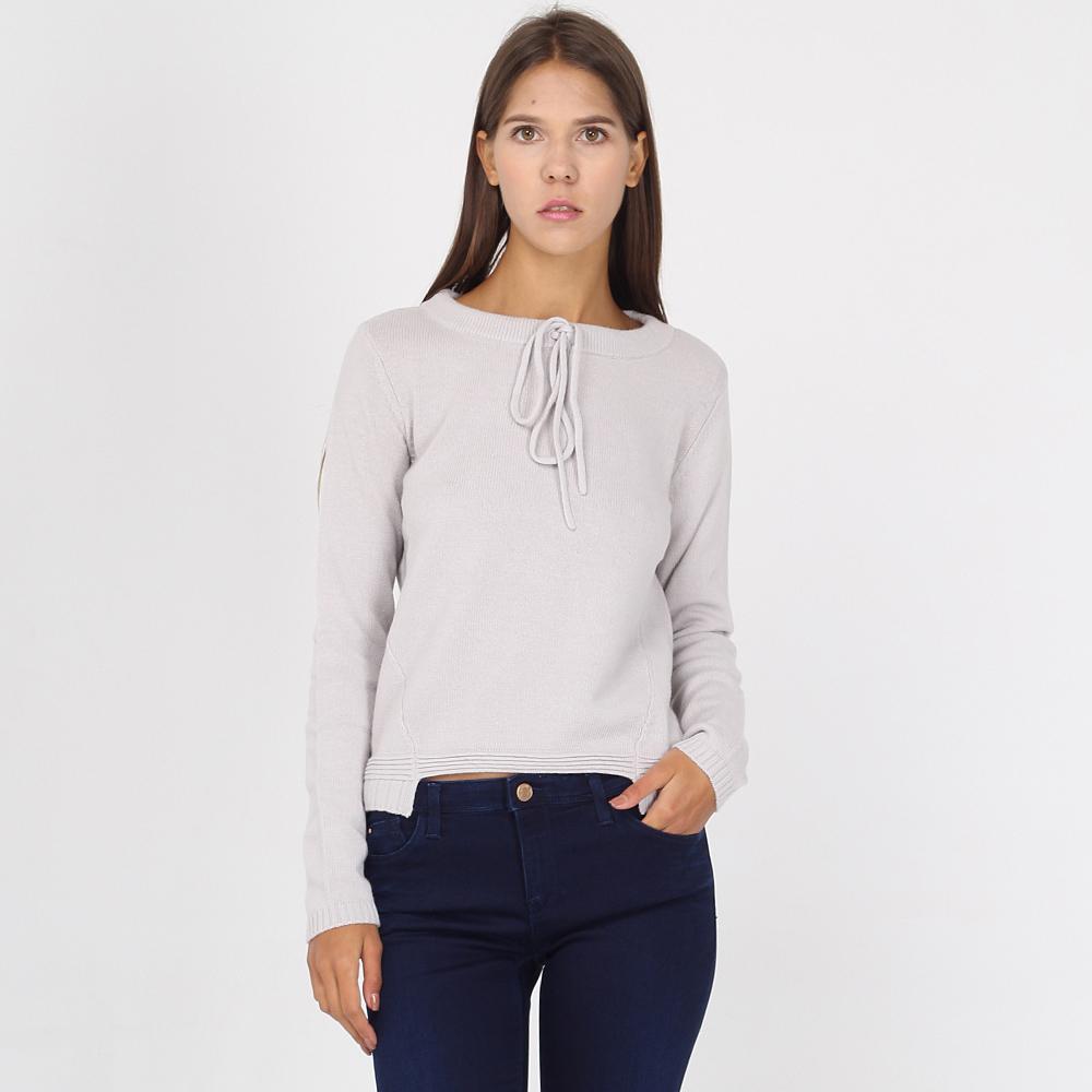 Укороченный джемпер Armani Jeans с завязками