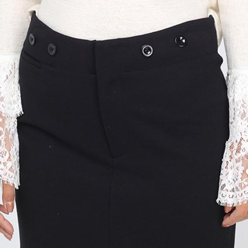 Юбка-карандаш Polo Ralph Lauren черного цвета
