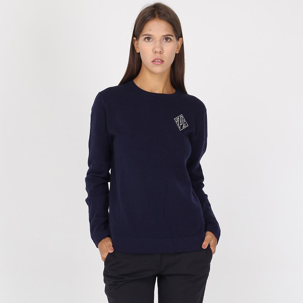 Кашемировый джемпер Polo Ralph Lauren синего цвета